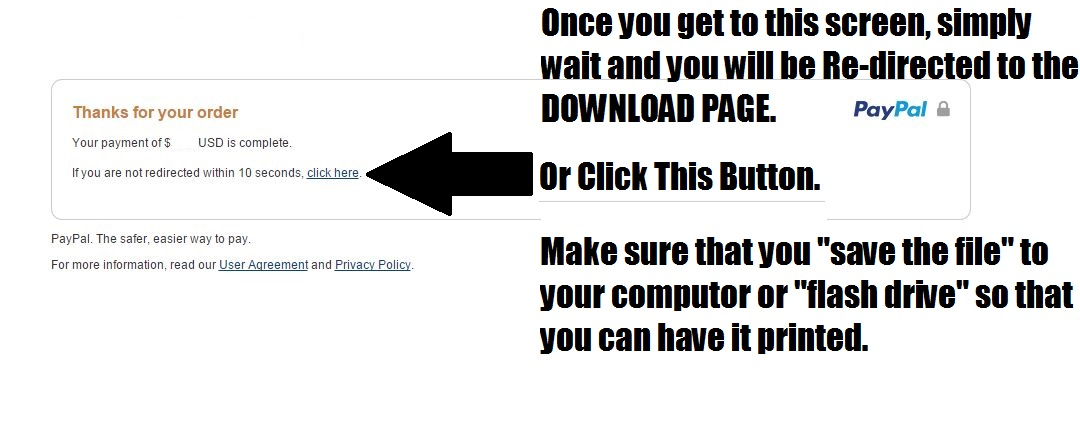 Paypal-Redirect-to-Download-Page